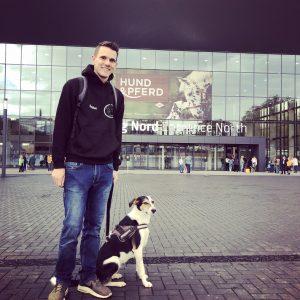 Stephan & Shakeera bei der Hund & Pferd